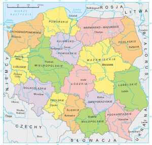 cidadania polonesa mapa