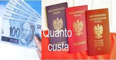 Custos e Despesas da Cidadania Polonesa