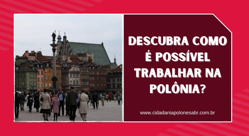 trabalhar na polônia